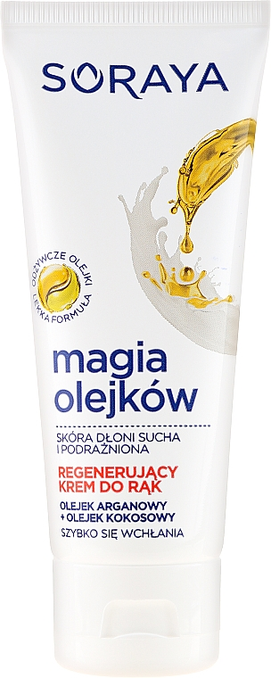 Crema regeneratoare pentru mâini - Soraya Magic of Oils Deeply Regenerating Hand Cream — Imagine N1