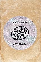 Parfumuri și produse cosmetice Scrub cu cărbune activ pentru corp - BodyBoom Active Charcoal Coffee Scrub