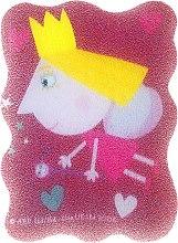 """Parfumuri și produse cosmetice Burete de baie """"Ben și Holly"""", Holly, pentru copii, roz - Suavipiel Ben & Holly"""