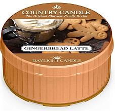 Parfumuri și produse cosmetice Lumânare de ceai - Country Candle Gingerbread Latte Daylight