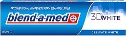 """Parfumuri și produse cosmetice Pastă de dinți """"Albirea delicată"""" - Blend-A-Med 3D White Delicate White"""