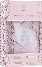 Parfumuri și produse cosmetice Set - Peggy Sage Spa Manucure Kit (bath/caviar/20g + peeling/gel/15ml + h/masque/15ml + h/cr/15ml)