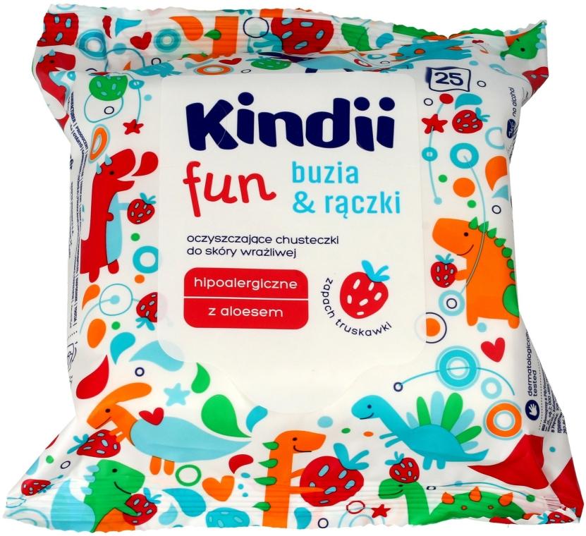 Șervețele umede pentru copii - Kindii Fun — Imagine N1