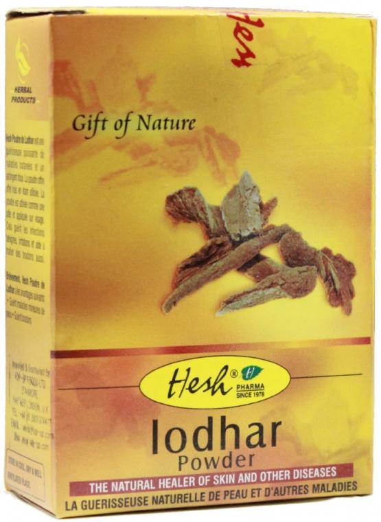 Mască-pulbere împotriva inflamațiilor pentru față - Hesh Lodhar Powder — Imagine N1