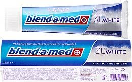 """Parfumuri și produse cosmetice Pastă de dinți """"Prospețimea arctică"""" - Blend-A-Med 3D White Arctic Freshness"""