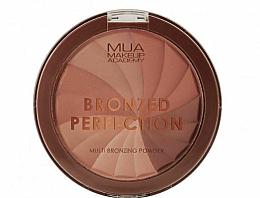 Parfumuri și produse cosmetice Pulbere bronzer pentru față - MUA Bronzed Perfection Multi Bronzing Powder