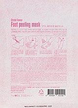Mască de țesut pentru tălpi - The Orchid Skin Orchid Flower Foot Peeling Mask — Imagine N2