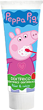 Parfumuri și produse cosmetice Pastă de dinți pentru copii, cu aromă de căpșuni - Lorenay Peppa Pig Toothpaste