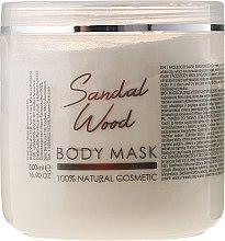 """Parfumuri și produse cosmetice Mască pentru față și corp """"Lemn de santal"""" - Sezmar Collection Professional Body Mask Sandal Wood"""