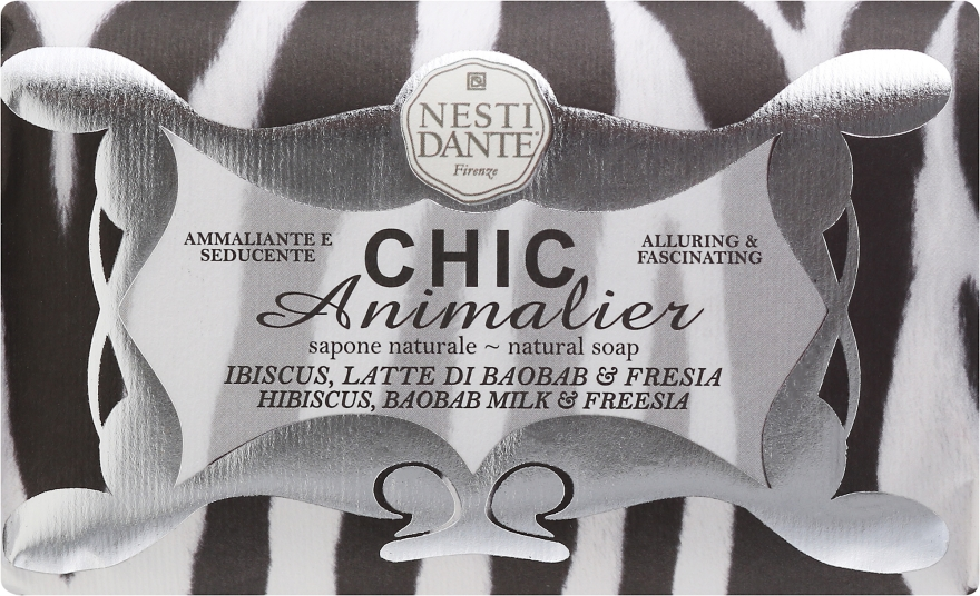 "Săpun ""Tigru alb"" - Nesti Dante Chic Animalier Soap — Imagine N1"