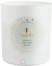 """Parfumuri și produse cosmetice Lumânare parfumată, în borcan """"Kumquat, ylang-ylang, paciuli"""" - Flagolie Soy Candle"""