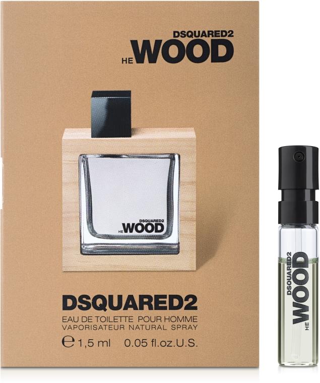 DSQUARED2 HE WOOD - Apă de toaletă (mostră) — Imagine N1