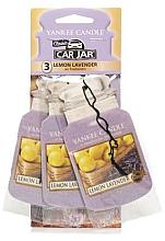 """Parfumuri și produse cosmetice Aromatizator """"Lămâie și lavandă"""" - Yankee Candle Fluffy Lemon Lavender Jar Ultimate"""