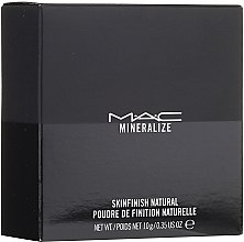 Parfumuri și produse cosmetice Pudra minerală pentru față - MAC Mineralize Skinfinish Natural