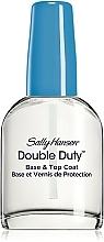 Parfumuri și produse cosmetice Tratament pentru unghii cu efect dublu - Sally Hansen Double Duty
