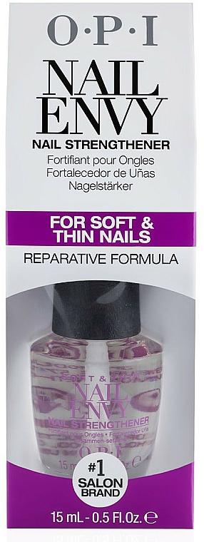 Tratament pentru unghiile subțiri și moi - O.P.I Nail Envy Soft and Thin — Imagine N2