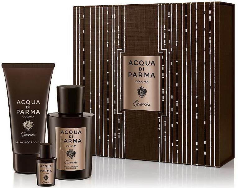 Acqua di Parma Colonia Quercia - Set (edc/100ml + edc/5ml + sh/gel/75ml)