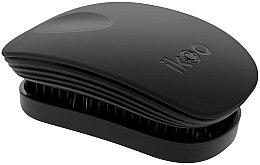 Parfumuri și produse cosmetice Perie de păr - Ikoo Pocket Black Brush