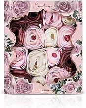Set de trandafiri din săpun - Baylis & Harding Boudoire Velvet Rose & Cashmere Soap Petal Set — Imagine N1