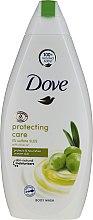 Parfumuri și produse cosmetice Gel de duș cu extract de ulei de măsline - Dove Protect Care Body Wash