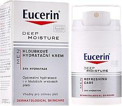Cremă hidratantă pentru bărbați - Eucerin Men Deep Moisture Refreshing Care — Imagine N1