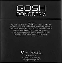Gel hidratant pentru față - Gosh Donoderm 24h Moisture Gel Prestige — Imagine N3