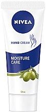 Cremă de mâini - Nivea Hand Cream Moisture Care Olive — Imagine N1