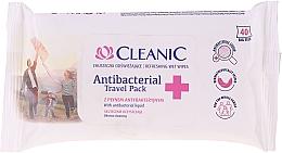 Parfumuri și produse cosmetice Șervețele umede antibacteriene - Cleanic Antibacterial Travel Pack Refreshing Wet Wipes