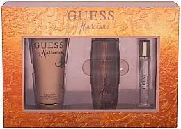 Parfumuri și produse cosmetice Guess by Marciano - Set (edt/100ml + b/lot/200ml + edt/15ml)