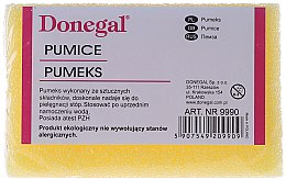 Parfumuri și produse cosmetice Burete pentru călcâie, 9990, galben - Donegal