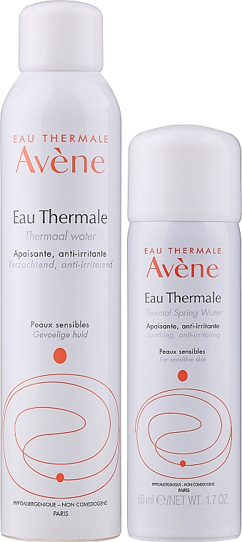 Set - Avene Eau Thermale Water (wtr/50ml + wtr/300ml) — Imagine N1