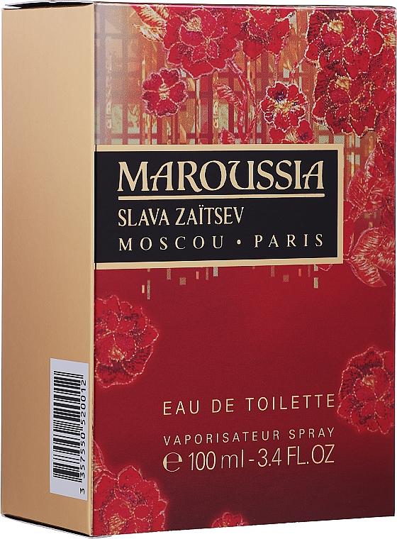 Slava Zaitsev Maroussia - Apă de toaletă — Imagine N2