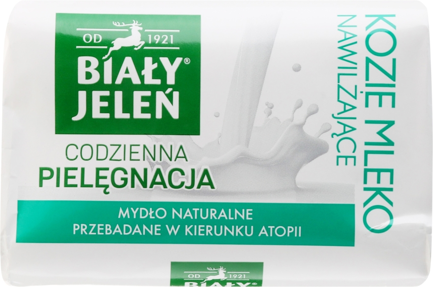 Săpun hipoalergenic cu lapte de capră - Bialy Jelen Hypoallergenic Soap With Goat Milk