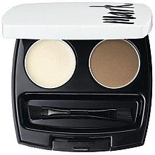 Parfumuri și produse cosmetice Set dublu pentru designul sprâncenelor - Avon Mark Eyebrow Kit