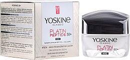 Parfumuri și produse cosmetice Cremă de noapte pentru piele normală și combinată - Yoskine Classic Platin Peptide Face Cream 50+
