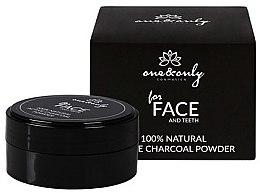 Parfumuri și produse cosmetice Praf de dinți - One&Only Cosmetics For Face&Teeth Active Charcoal Powder