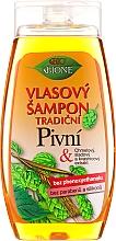 "Parfumuri și produse cosmetice Șampon de păr ""Beer"" - Bione Cosmetics Traditional Beer Hair Shampoo"