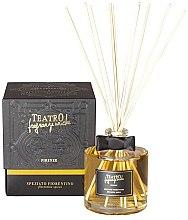 Parfumuri și produse cosmetice Difuzor de aromă pentru casă - Teatro Fragranze Uniche Speziato Fiorentino with Sticks