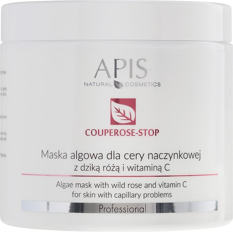 Mască de față cu extract măceș - APIS Professional Algae Mask