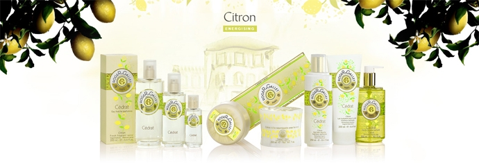 "Gel revigorant de duș ""Citron"" - Roger & Gallet Citron Fresh Shower Gel Energising — Imagine N3"