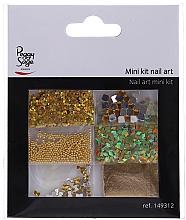 Parfumuri și produse cosmetice Set pentru designul unghiilor, 149312 - Peggy Sage Mini Kit Nail Art (6 buc.)