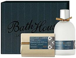 Parfumuri și produse cosmetice Bath House Bergamot & Amber - Set (edc/100ml + soap/150g)