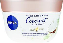 Parfumuri și produse cosmetice Souffle pentru corp - Nivea Body Souffle Coconut & Monoi Oil