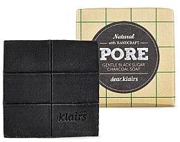 Parfumuri și produse cosmetice Săpun pentru ten gras - Klairs Gentle Black Sugar Charcoal Soap