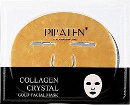 Parfumuri și produse cosmetice Mască pe bază de colagen pentru față - Pilaten Collagen Crystal Gold Facial Mask