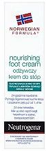Parfumuri și produse cosmetice Cremă nutritivă pentru picioare - Neutrogena Nourishing Foot Cream 24H