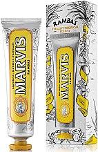 Parfumuri și produse cosmetice Pastă de dinți cu efect de împrospătare - Marvis Rambas Limited Edition Toothpaste
