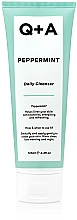 Parfumuri și produse cosmetice Demachiant cu extract de mentă, pentru față - Q+A Peppermint Daily Cleanser