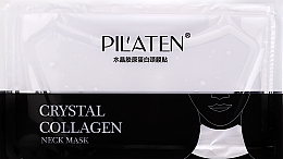 Parfumuri și produse cosmetice Mască cu colagen pentru gât - Pilaten Collagen Crystal Neck Mask
