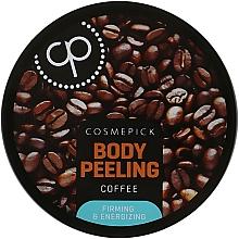 Parfumuri și produse cosmetice Peeling de zahăr cu extract de cafea pentru corp - Cosmepick Body Peeling Coffee